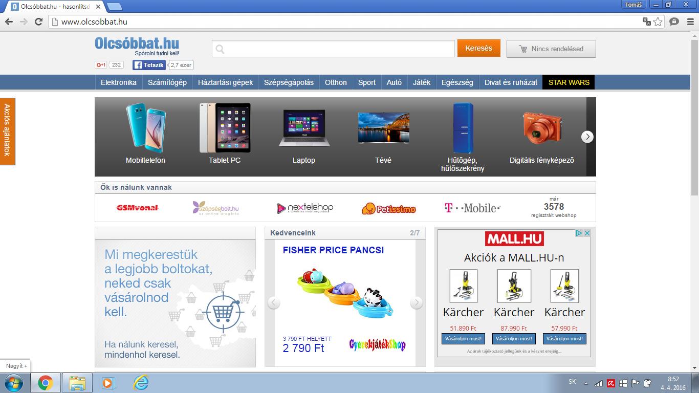 0620c1d68d Price-comparison portals in Hungary Expandeco